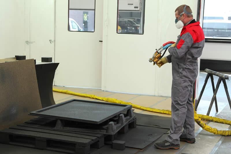 Assistent schilderen/industriële lakverwerking