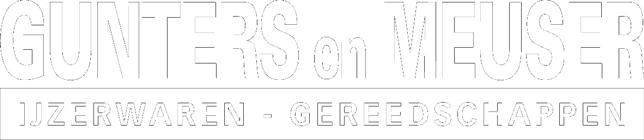 Gunters en Meuser IJzerwaren - Gereedschappen